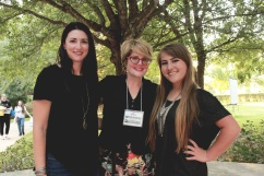 Carrie, Libba Bray, and Isabel.