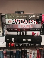 Isabel's book haul.